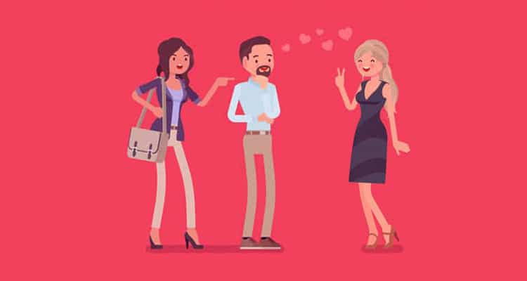 Affair with other woman
