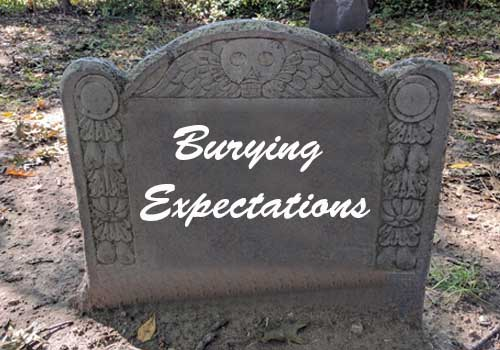 Burying expectations