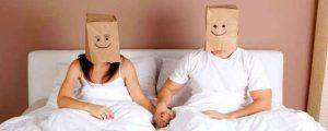 Couple with Paperbags