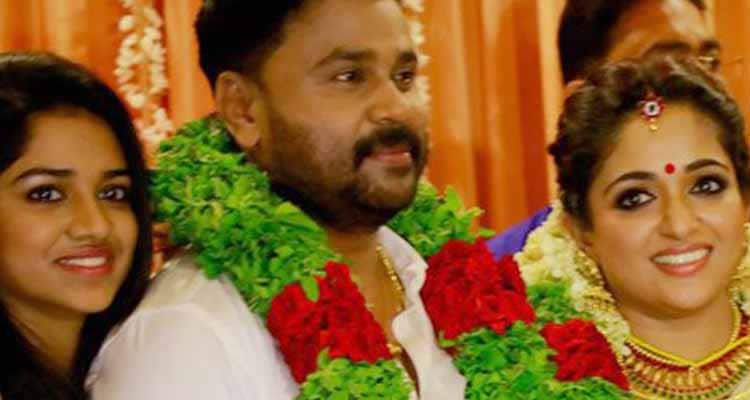 Actor Dileep marries Kavya Madhavan