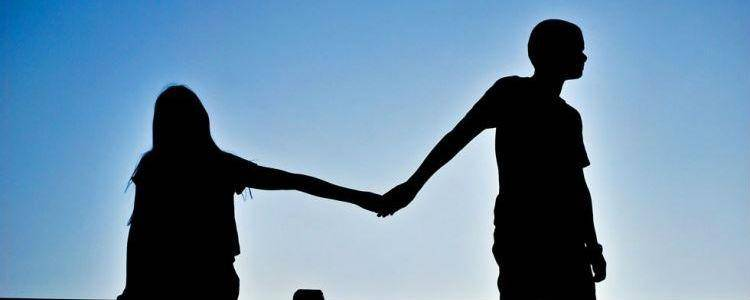 Holding Hands Silhouette