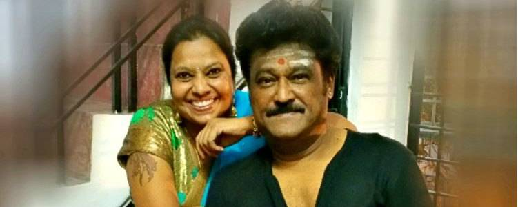 Image result for jaggesh with wife old photo