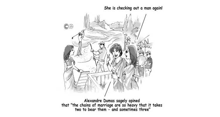 The chains of marriage