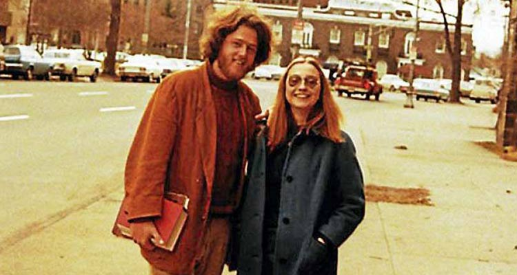 she met Bill at Yale Law, she became the rock of his life.