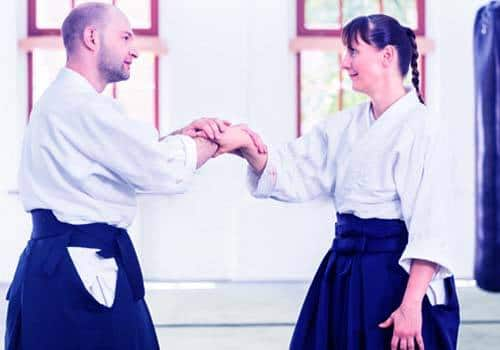 aikido man woman