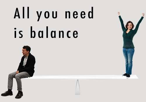 all you need is balance