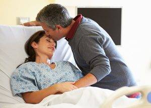 caring for sick wife
