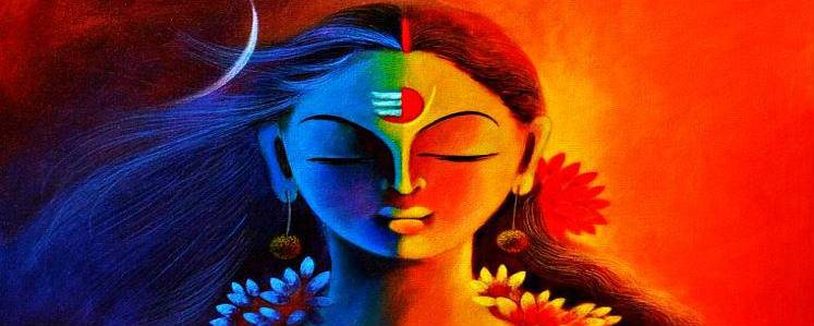Shiva and parvati stand for desire and creation
