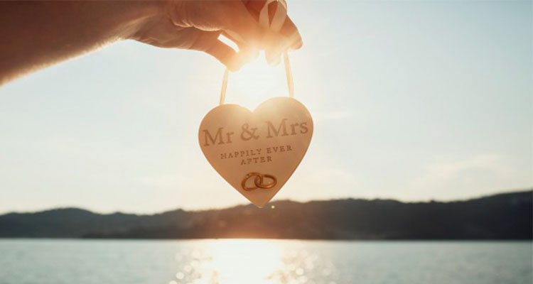 wooden heart with lettering