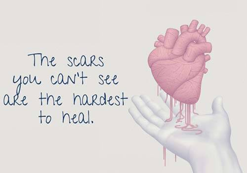 scars will not heal