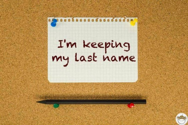 i am keeping my last name