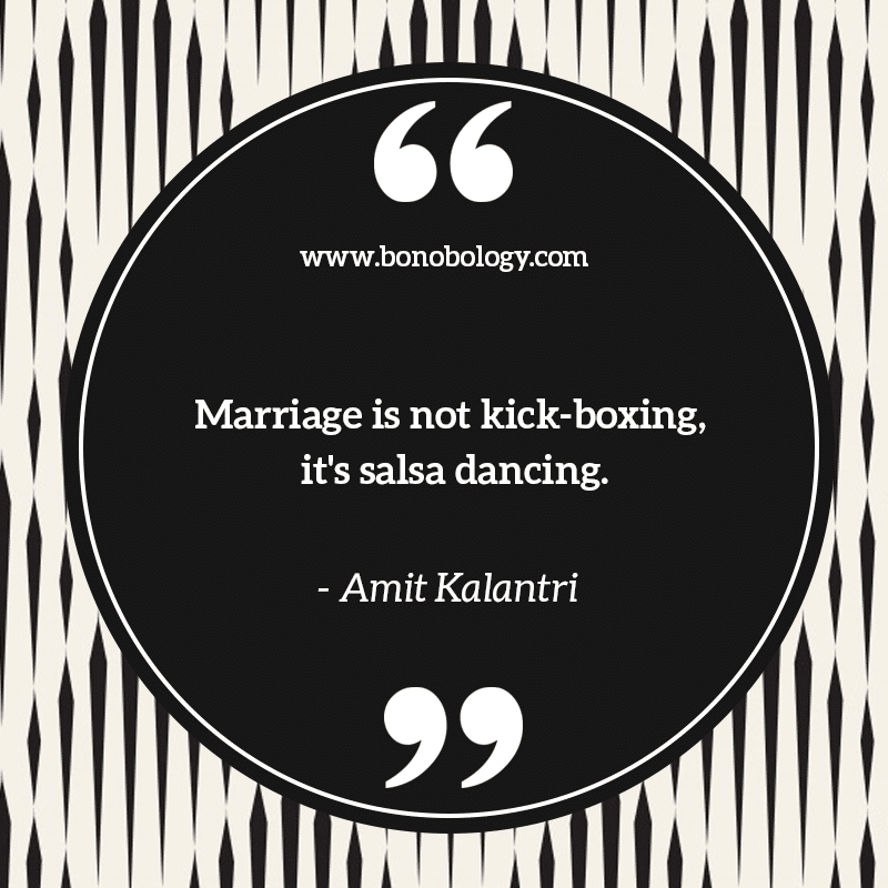 Amit Kalantri on marriage, kick boxing and salsa dancing