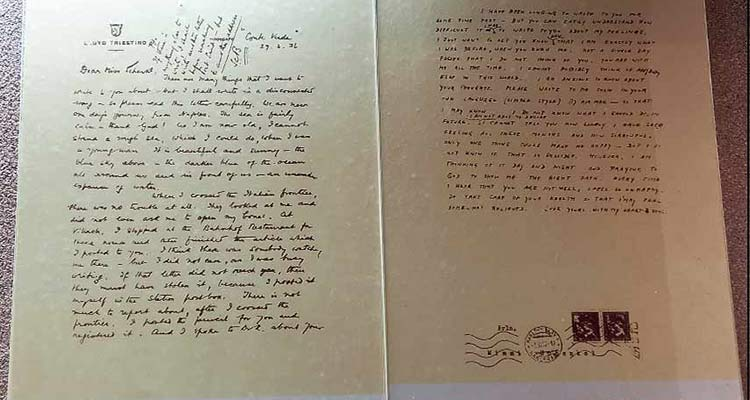 Subhas Chandra had written his first love letter to Emilie
