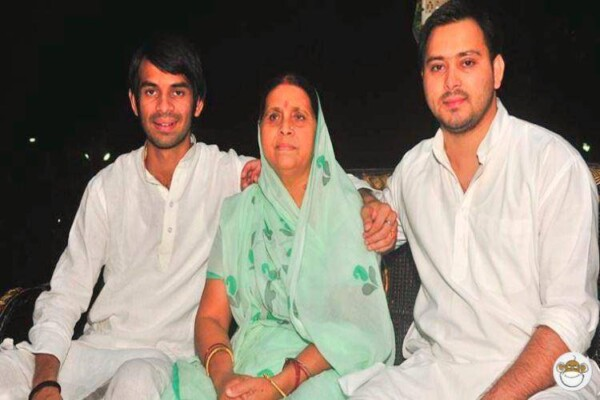 Rabri with sons