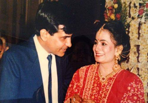 Rajika Malhotra with his husband