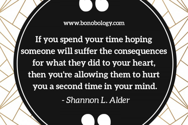 Shannon L Alder on heart, hurt and consequences