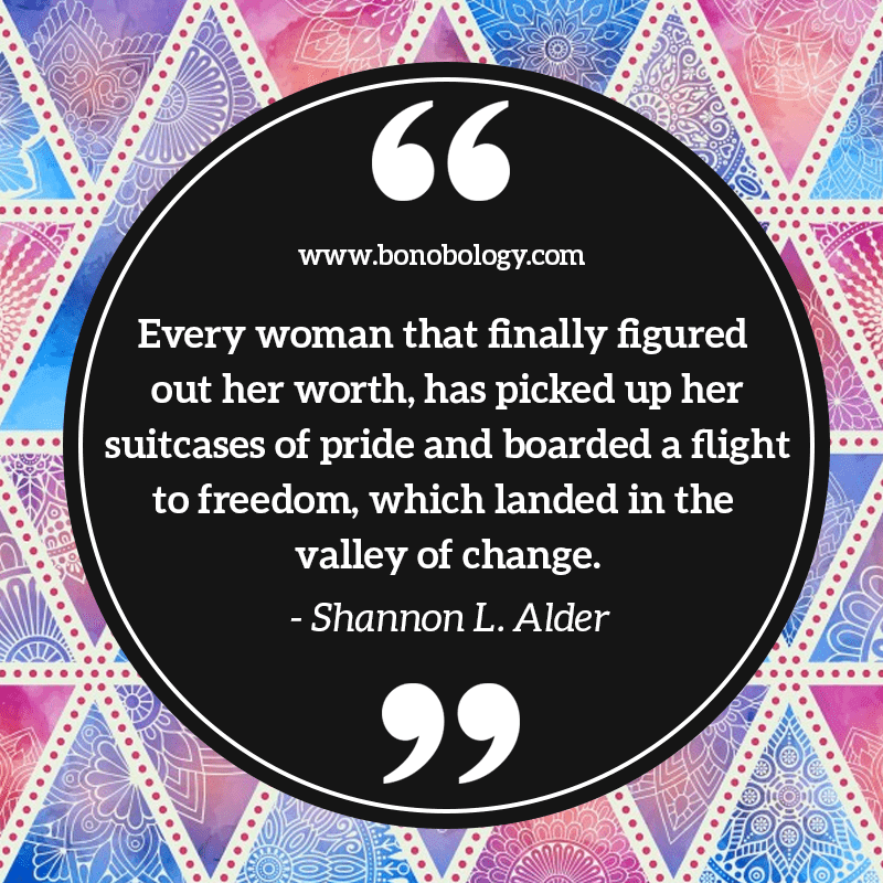 Shannon L. Alder on women, pride and freedom