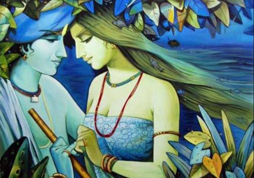 Krishna shared mutual respect with the women he loved