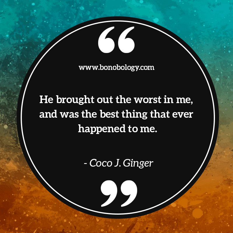 Coco J. Ginger on best things that happened, which brought out his worst