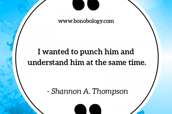 Shannon A. Thompson on punching and understanding