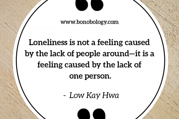 Low Kay Hwa on loneliness