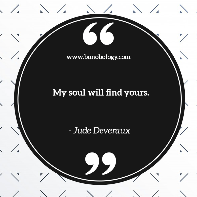 Jude Deveraux on souls
