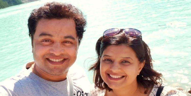 Marathi actor subodh bhave and wife mannjiri bhave