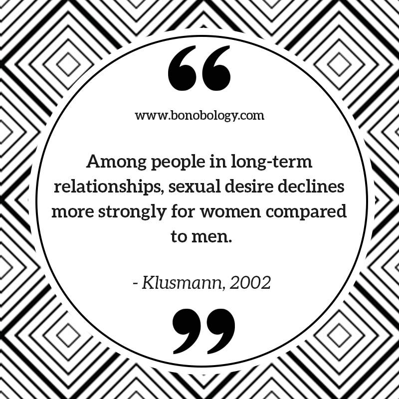 Klusmann on sexual desire