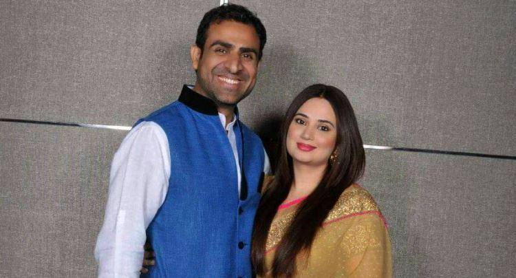 Shalini kapoor with her husband