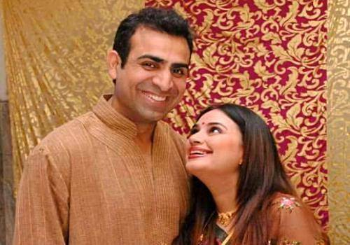 Shalini Kapoor with her husband Rohit Sagar