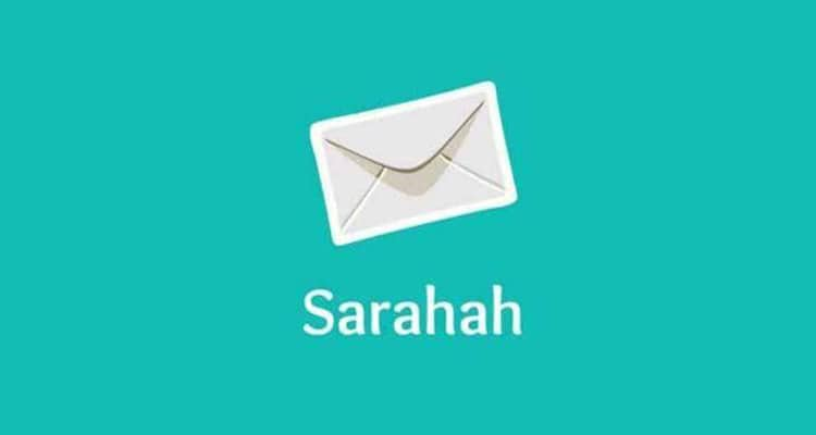 Sarahah with envelop