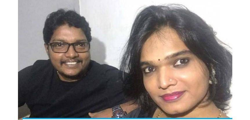 India's first transgender couple