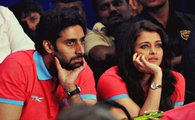 Abhishek with aishwarya