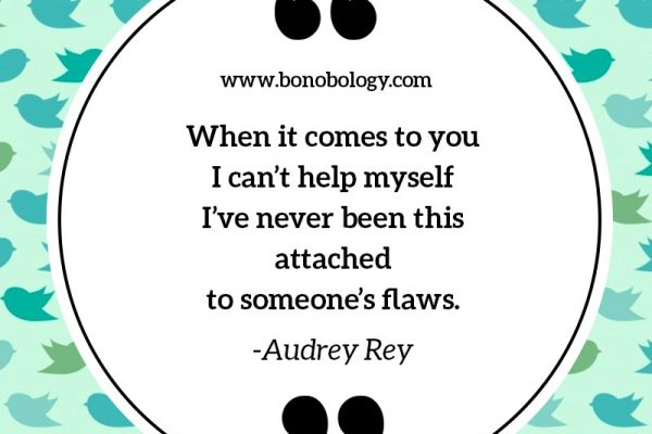 Audrey Rey on being attached to lover's flaws