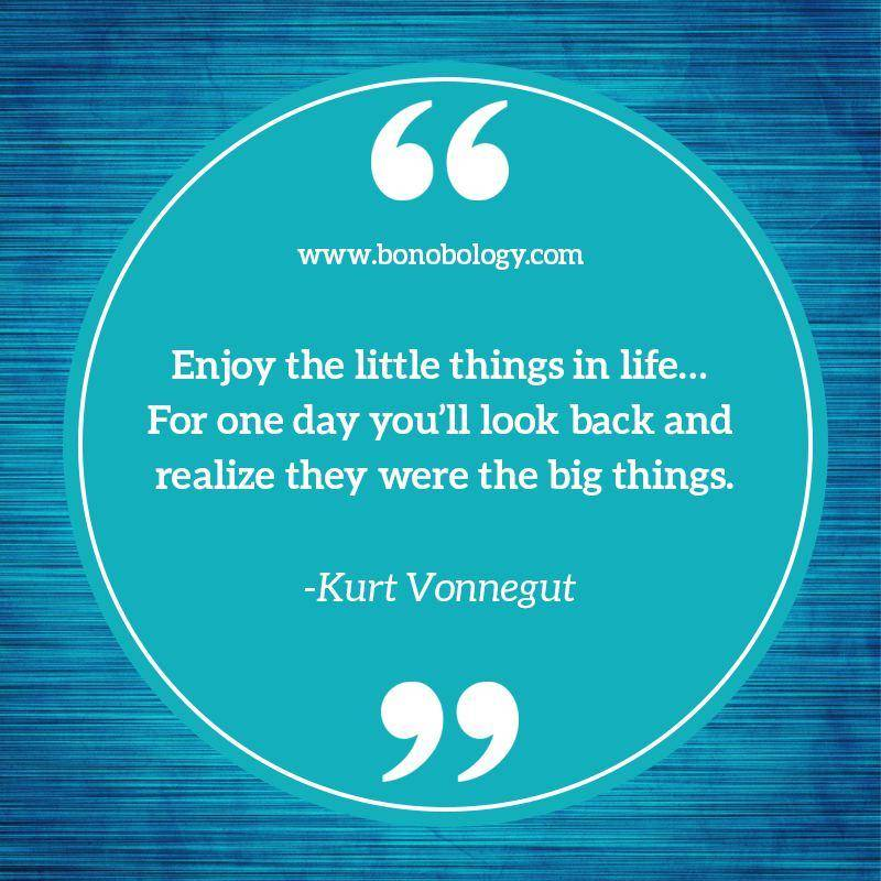 Kurt Vonnegut on life, little things and big things