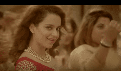 Kangna in AIB video