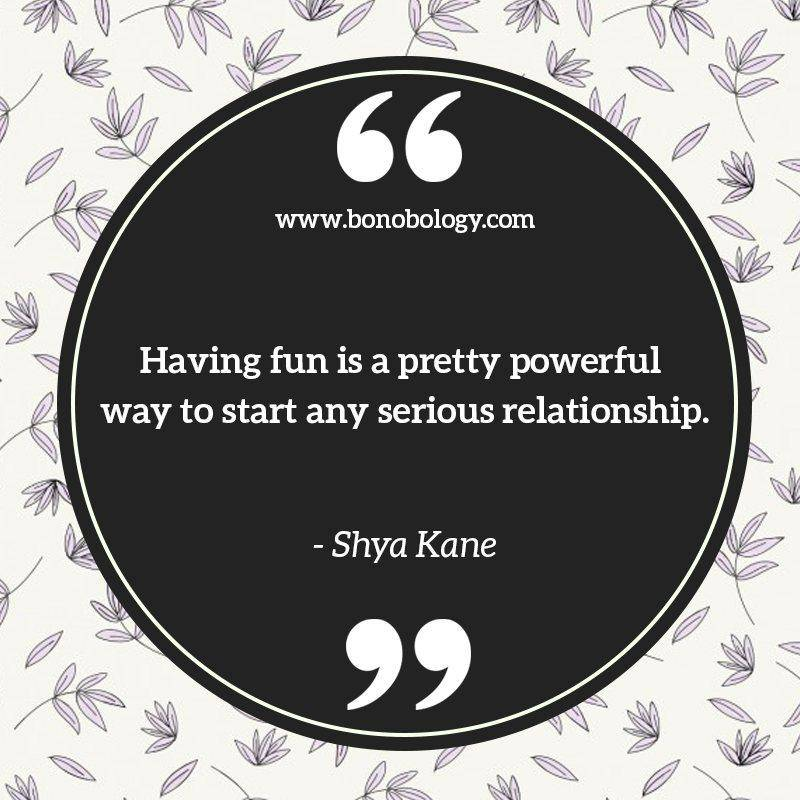 Shya Kane on fun and wonderful relationships