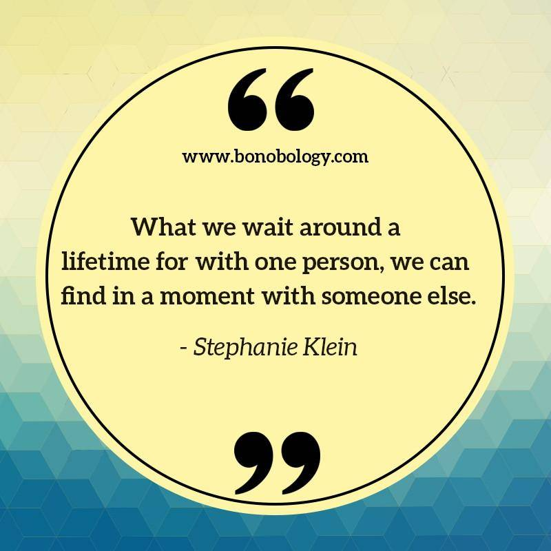 Stephanie Klein on moments, lifetime and finding someone