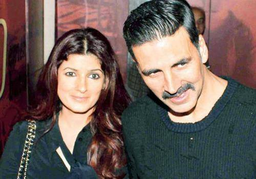 Twinkle Khanna with Akshay play perfect role models to their kids