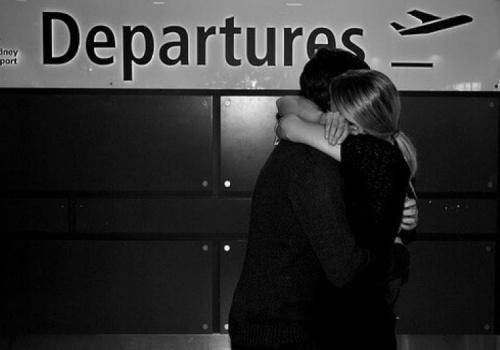 couple-airport