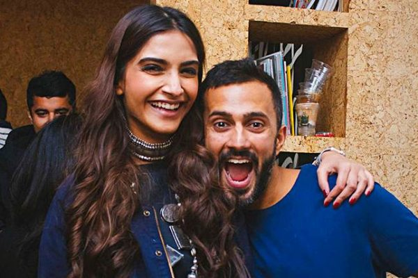 sonam with her anand