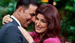 Akshay and twinkle in love