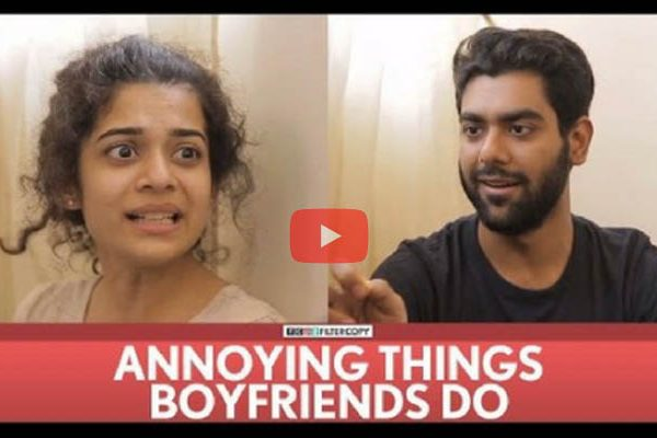 Annoying things boyfriend do