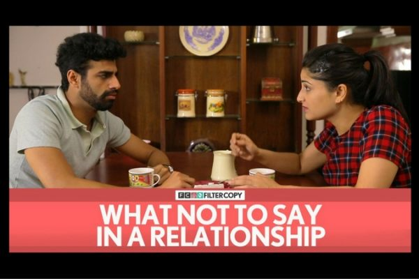 what not to say in a relationship
