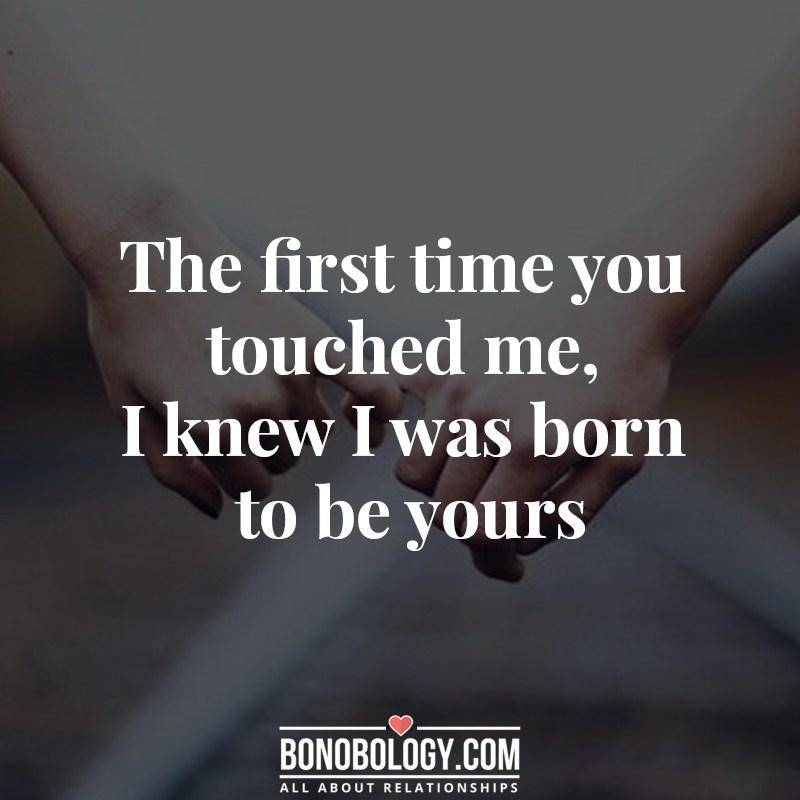That-first-touch