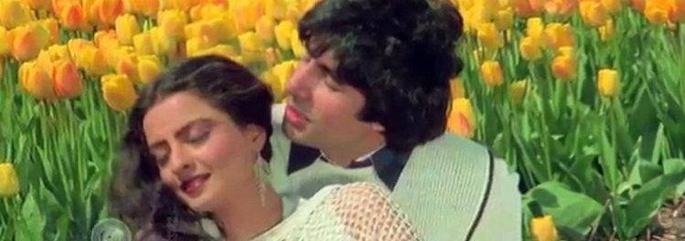 Amitabh with Rekha