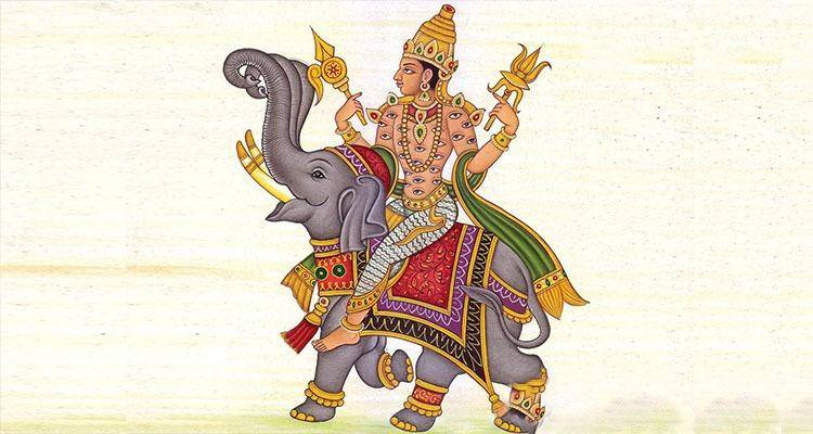 King of Gods Indra was a philandering husband to his devoted wife Shachi