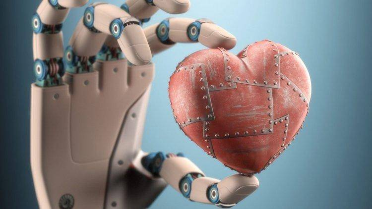 robotic-hand-heart-love