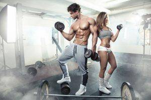 Couple workout together better sex