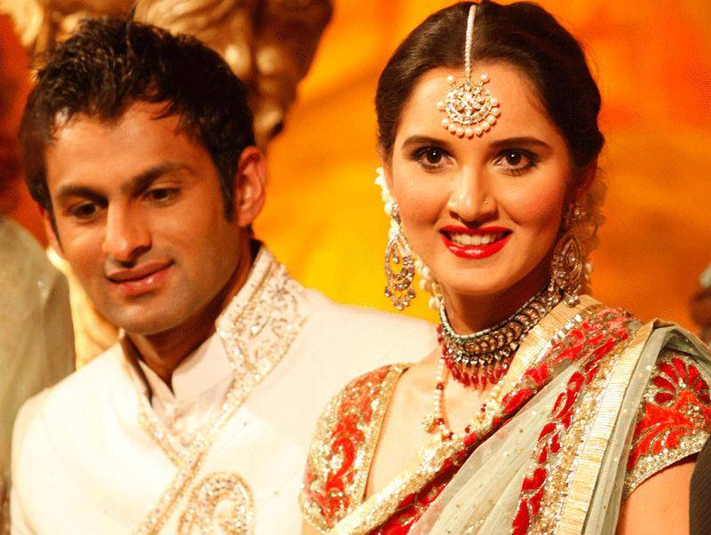 Sania Mirza with husband